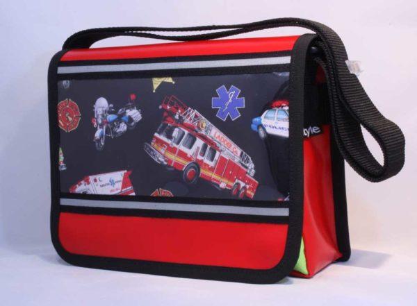 Kindergartentasche Rettungsfahrzeuge